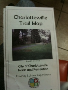 Charlottesville Trail Map